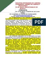 Mbm Jalisco, Reforma Educativa Disfrazada de Laboral, Si Afecta a Estudiantes, Padres Dee Familia y Profesores