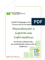 Tecnico Subsequente Em Manutencao e Suporte Em Informatica 2012
