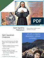 Saint Agostina Pietrantoni