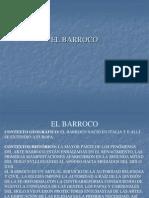 6. El Barroco