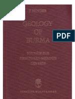 Geology of Burma (F.bendER,1983) Part (1)