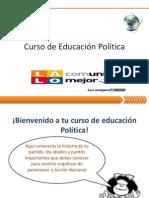 Cuaderno de trabajo de Educación política