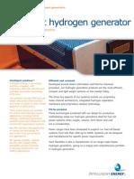 Compact Hydrogen Generator