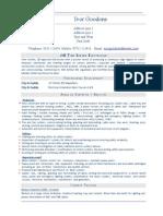 JIB Electrician CV