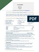 Logistics Freight - Healh Safety CV