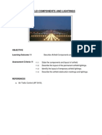 Airfield Components and Lightings