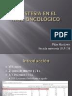 anestesia en el nio oncolgico