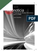Webnoticia Propuesta de Modelo Periodistico Para La WWW