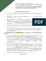 Contrato de Arrendamiento de Bienes Inmuebles ( Formato)