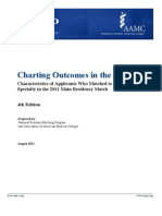 Charting Outcomes in the Match 2011 (NRMP)