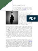 Audrey Hepburn Et Sa Petite Robe Noire