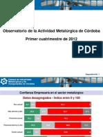 Presentación CIMCC 2012 05 09