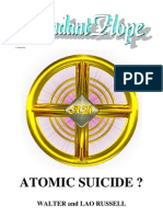Walter Russell & Lao Russell - (1957) - Atomic Suicide [Abundant Hope Scanned Version]