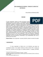 A Origem Do Crime Organizado No Brasil Conceito e Aspectos