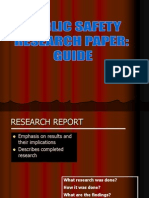 Research Report Guide
