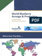 2010 World Blueberry Production - Presentation