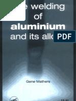 # Welding of Aluminum - Mathers
