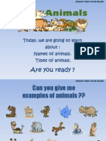 Animals Year 4
