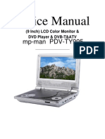Service Manual Mp-man Pdv-ty995