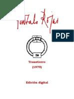 Gonzalo Rojas - (1979) Transtierro