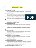 Glosario de Aplicaciones y Usos