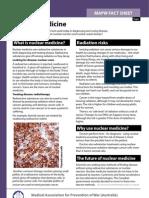 Nuclear Medicine Fact Sheet