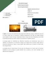 Informe de 212 - Calor y Dilatacion Lineal