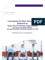 Leveraging the Next Generation Network to Seize the IP Centrex Opportunity