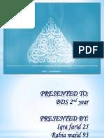 BDS presentation 1