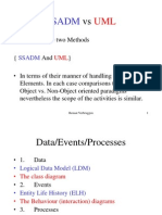 Difference between SSADM and Rational Unified Process