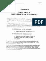 Dispensation Chapter 10