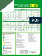 2013-Calendaro Por Semestre