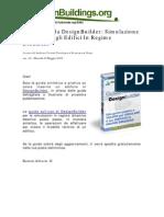 Guida Rapida Design Builder Anteprima
