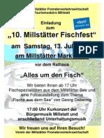 Fischfest am 13. Juli 2013 in Millstatt