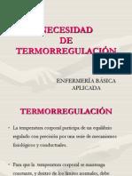 Termorregulacion y Frio