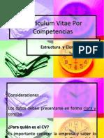 CV Por Competencias
