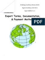 2005 EB 08 Export Terms Documentation and Payment Methods