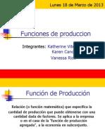 Funciones de Produccion