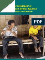 The Department of Orang Asli Affairs, Malaysia