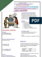 Workshop Brochure 29 July,2013