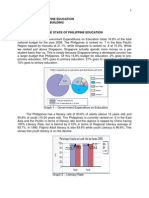 The State of Philippine Education (Report No. 3)