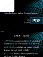 Introduction to garment industry