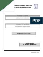 Programa Microbiologia y Parasitologia 2012-1