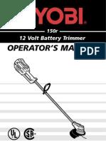 Battery Ryobi
