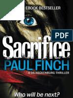 Sacrifice - Paul Finch - Extract