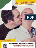 Forderungskatalog zum CSD Stuttgart 2013
