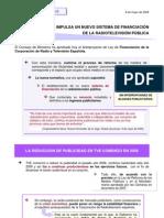 NUEVA FINANCIACIÓN DE TVE SIN PUBLICIDAD(2)