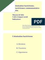 2 10 s1 Notion de Colonisation Bacterienne d Infections Bacteriennes Communautaires Et Liees Aux Soins