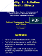 Fuel Quality, Air Pollution and Health in Pakistan.ppt