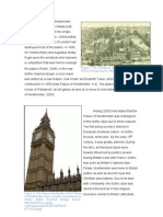 Elizabeth Tower, Palace of Westminster Essay